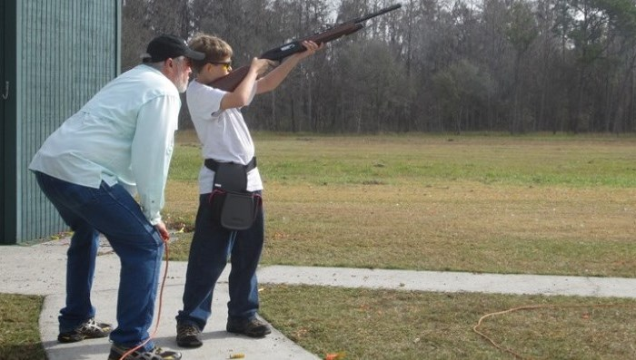 The shooting sports have always been demanding. Training starts at a young age.